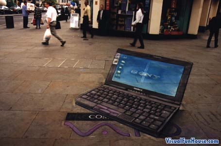 3D sony vaio laptop