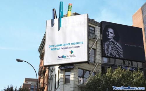 Fedex 3D Billboard