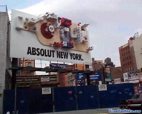 Absolute Diorama billboard