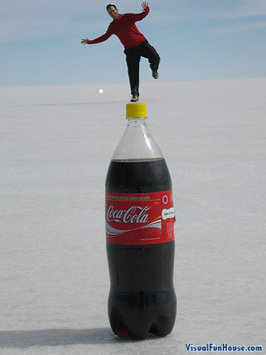 Balancing Coke Illusion