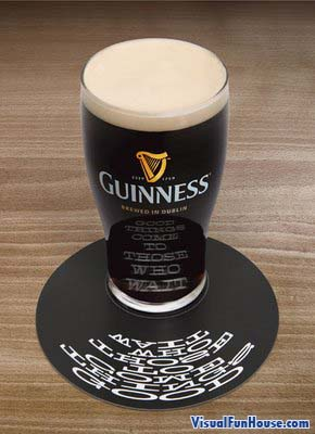 Guinness reflection