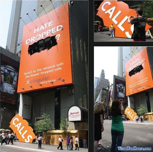 Cingular Dropped Calls Billboard