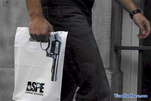 Aspen Gun Shopping Bag