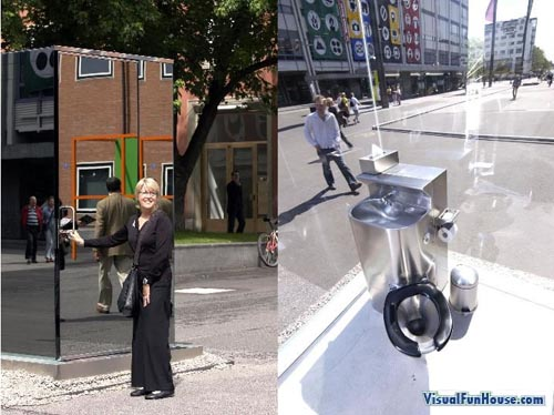 Nothing like a Glass toilet to add a little excitment to your day!