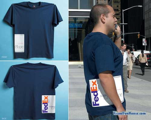 Fedex Tshirt Illusion