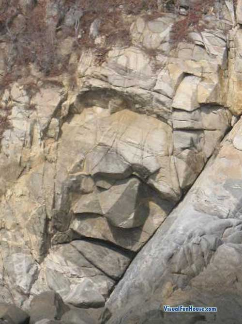 Huatulco Stone Face in Organo bay
