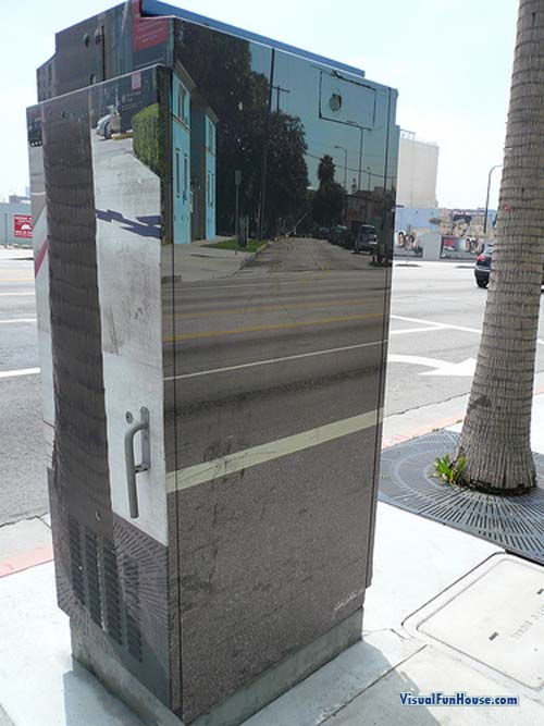 Transparent Painted Electrical Box