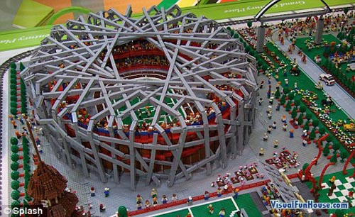 Lego Birds Nest Stadium