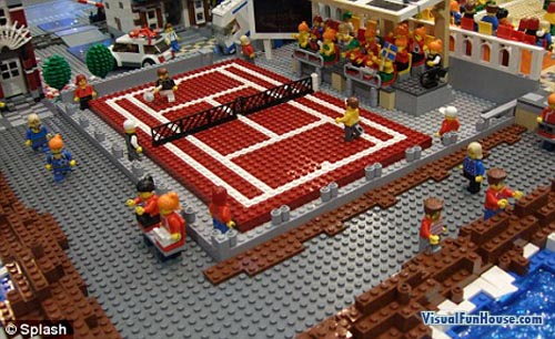 Lego Olympic Tennis