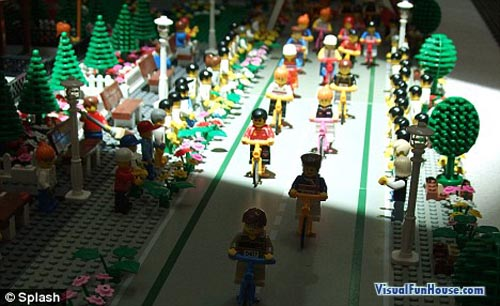 Lego Olympic Cyclists