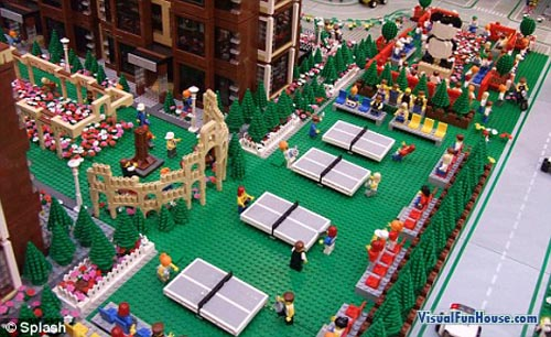 Lego Olympic Ping Pong