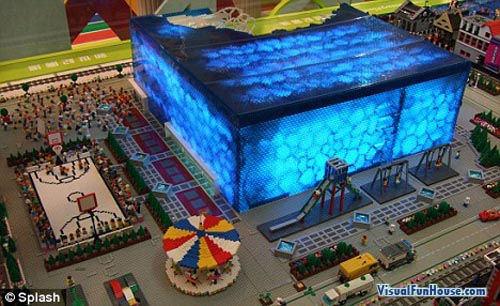 Beijing Olympics in Lego