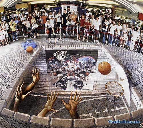 Nike Basketball ad in Shanghai