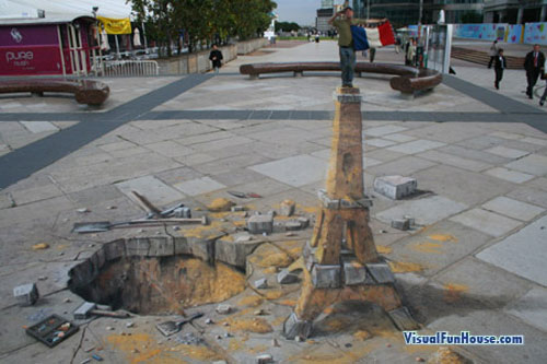 Paris 3D by Beever
