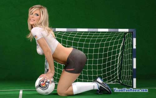 World Cup Soccer Body Paint 2