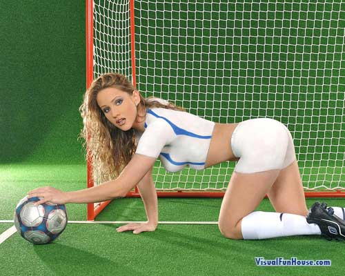 World Cup Soccer Body Paint